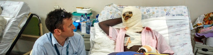 NHS Doctor Guy Stanley visits Ghana as deadly floods strike