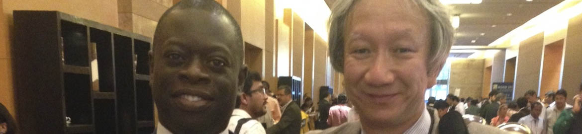 Dr Edem Anyigba attends WSRM Conference in Mumbai