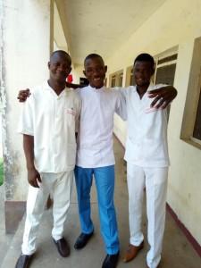 Foday Koroma, Ibrahim Sankoh and Augustine Kamara
