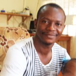 Mr Foday Koroma, SRN Trainee, currently in his first year at Bo, Sierra Leone