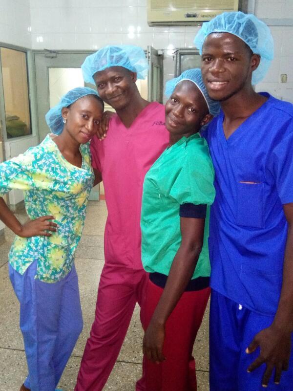 Report from Sierra Leone nurse trainees – Burns Management course