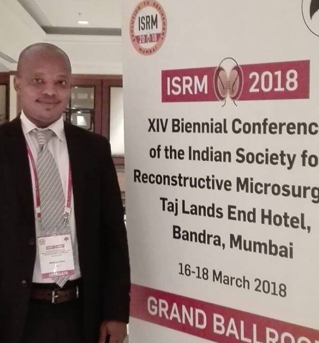 Resurge Africa reconstructive & plastic surgery trainee attends Microsurgery conference in Mumbai