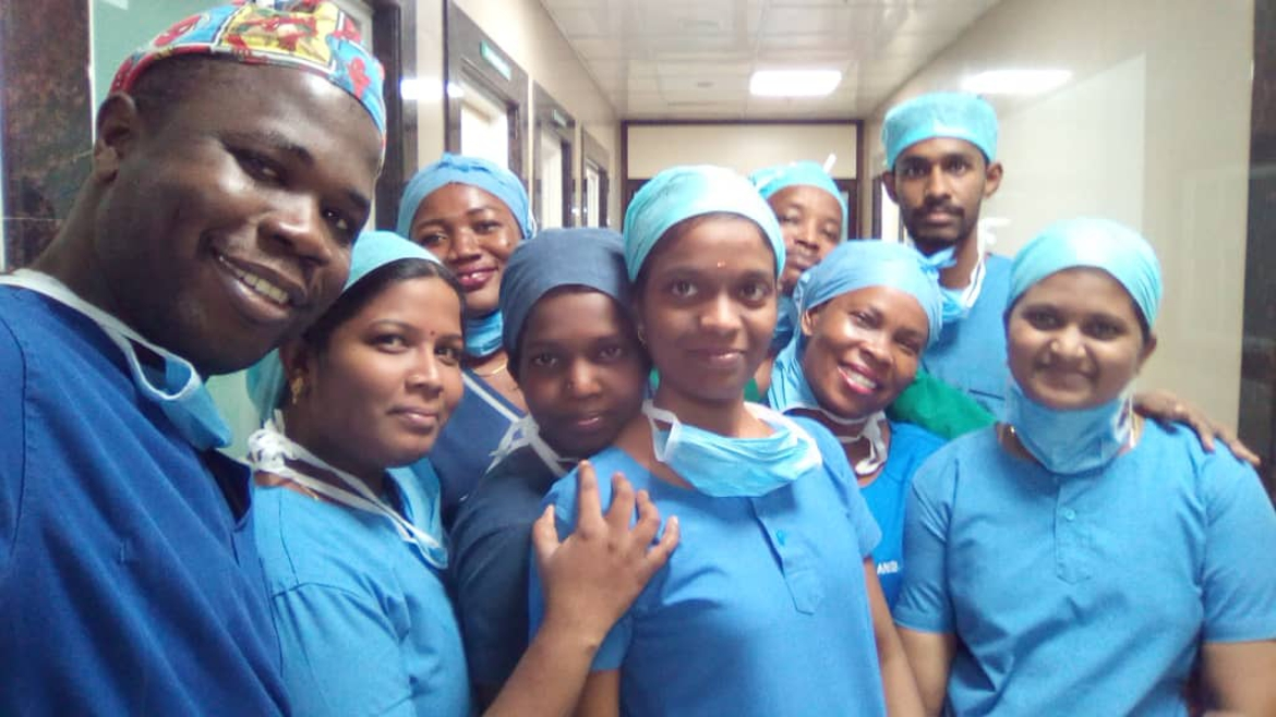 Sierra Leonean trainee reconstructive surgeon and Ghanaian nurses to return from India